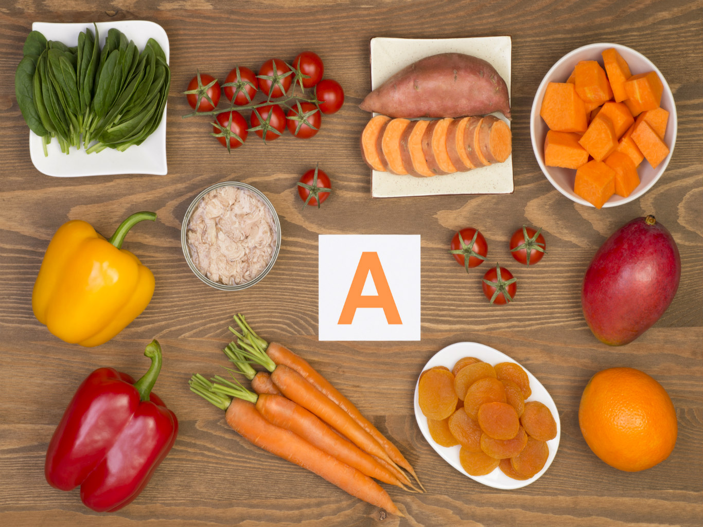 What foods contain vitamin A